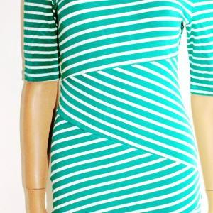 Cotton / women's Striped/ Mint and ..