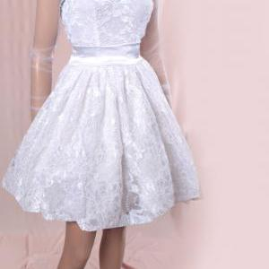 Plus Size wedding lace dresses /tul..