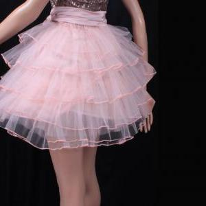 Layered tutu tulle mini / sweet pin..