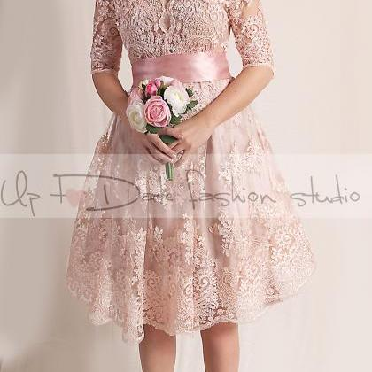 Plus Size blush pink party /evening..