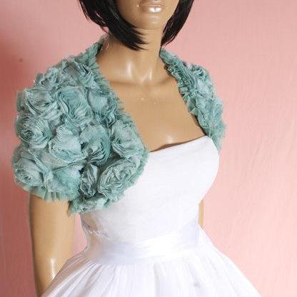Mint / Evening/ bridal/ prom/ rouse..