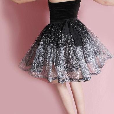 Little black strapless dress /Tutu ..