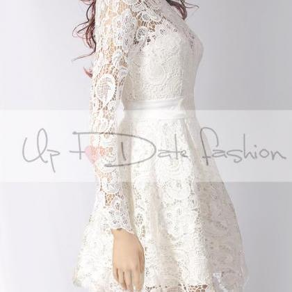 Party / short lace dress/wedding pa..